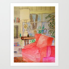 The Reading Room Art Print