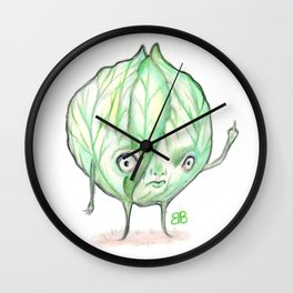 Savage Cabbage Wall Clock