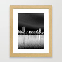 Back Bay Framed Art Print