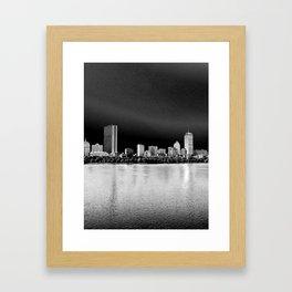 Back Bay Framed Art Print
