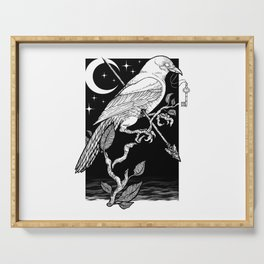 Night Crow Serving Tray