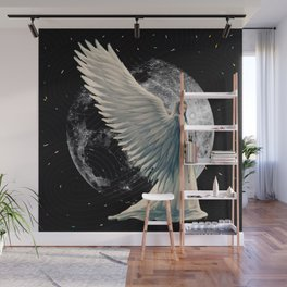 The Moon Angel Wall Mural