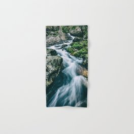 Wild river in Europe mountains Hand & Bath Towel