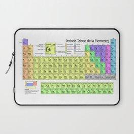 Perioda Tabelo de la Elementoj (Periodic Table in Esperanto) Laptop Sleeve