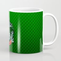 slytherin Mugs featuring SLYTHERIN  by Smart Friend