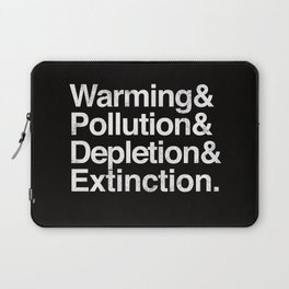 Ecology Issues Laptop Sleeve