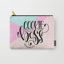 Cookie Boss Color Block Design Carry-All Pouch