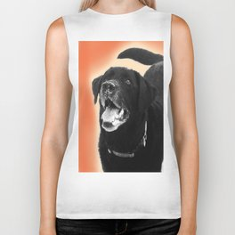 Labrador Happy 2 Biker Tank