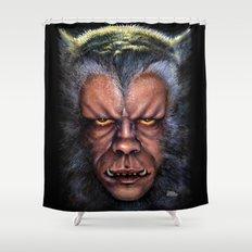 The Werewolf Curse Shower Curtain