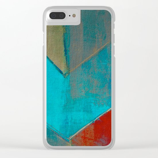 The River that Through the City Clear iPhone Case