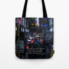 The Point Of Contact Tote Bag