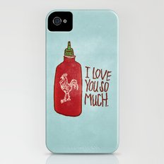 TRUE LOVE iPhone (4, 4s) Slim Case