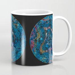 Mayan Calendar Tie Dye Geode Coffee Mug