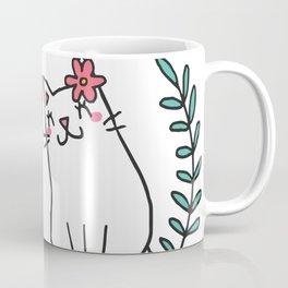 Cute Cat Lover Coffee Mug