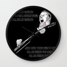 James Hatfield Wall Clock