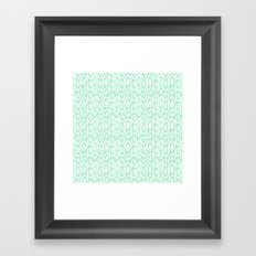 Leafyrific-Fresh Mint Framed Art Print