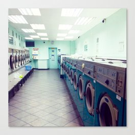 Laundry Store Canvas Print