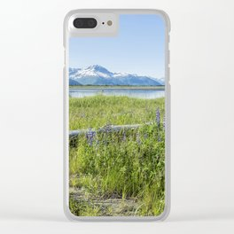 Along the Seward Highway, No. 2 Clear iPhone Case