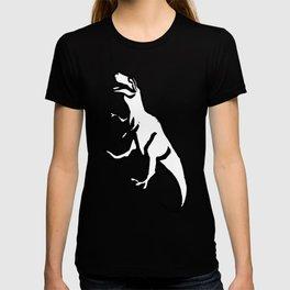Dinosaur Linocut Pattern T-shirt