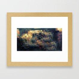 Street Vendor Framed Art Print
