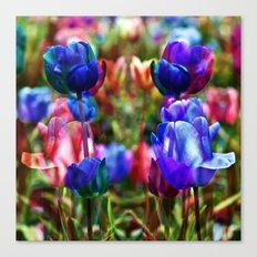 A Floral Dream of Spring Canvas Print