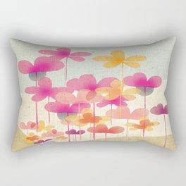 FlowerHill Rectangular Pillow