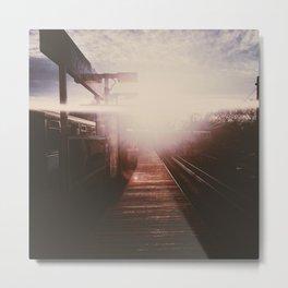 CTA Sunset Metal Print