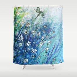 Dainty Daisies Shower Curtain