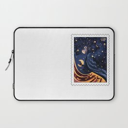 Postage Stamp Red-tailed black cockatoo Laptop Sleeve