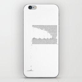 Erosion & Typography 3 iPhone Skin