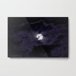 Luna Nueva Metal Print