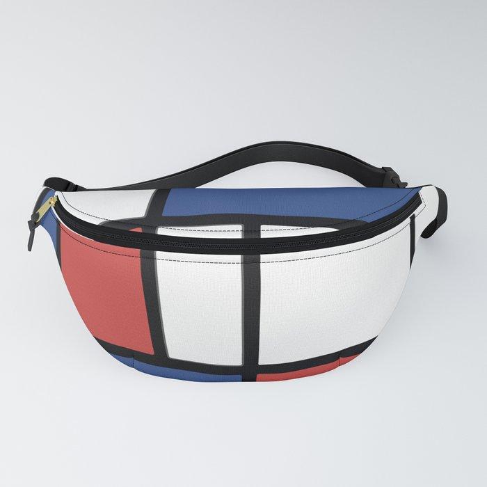Mondrian 3 #art #mondrian Fanny Pack