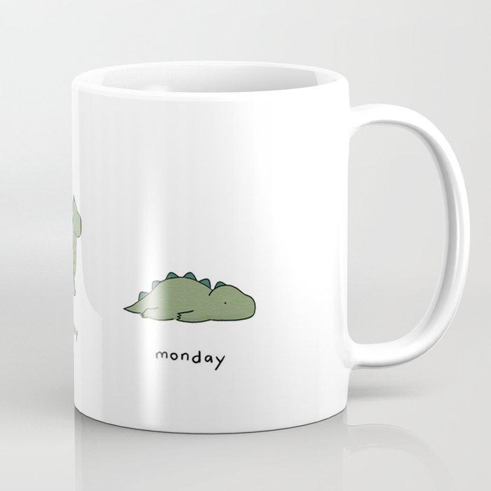 Monday Coffee Mug by lizclimo | Society6 #mondayCoffee