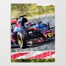 Max Verstappen 2015 Poster