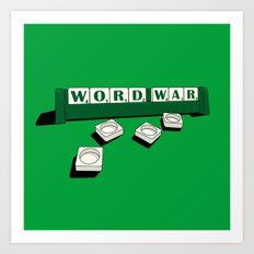 Word War! Art Print