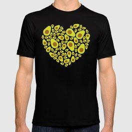 Avocado Heart T-shirt