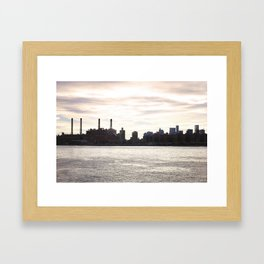 264. Apocalypse Skyline, New York Framed Art Print