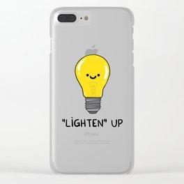 LIGHTEN up Clear iPhone Case