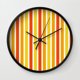Hot Day Wall Clock