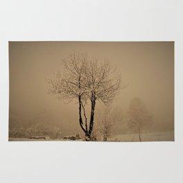 Sepia winter Rug