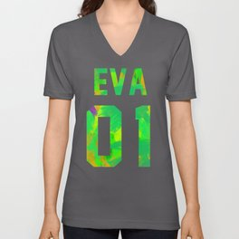 EVA-01 Revision Unisex V-Neck