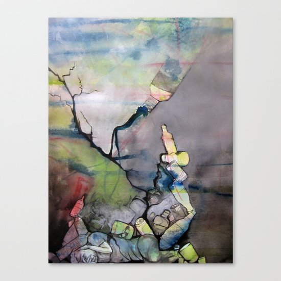 Addiction Canvas Print