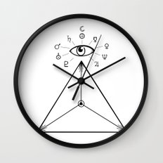 Freemasonry Wall Clock