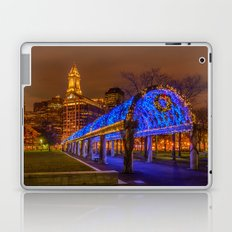 Boston, Christopher Columbus Waterfront Park Laptop & iPad Skin
