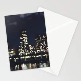 City Out of Focus Stationery Cards