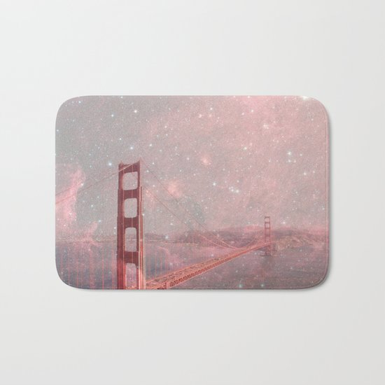 Stardust Covering San Francisco Bath Mat