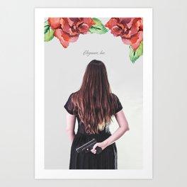 Elegantly Wasted Art Print
