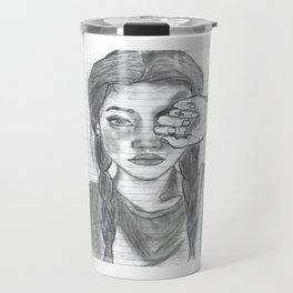 Tumblr girl Travel Mug