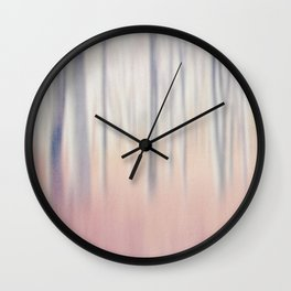 Pastel Woods Wall Clock
