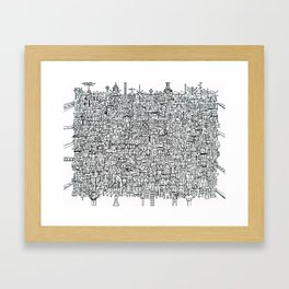 You Are Here #10 Framed Art Print